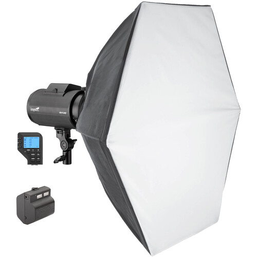 Impact Venture TTL-600 Battery-Powered Monolight Kit with Canon Controller
