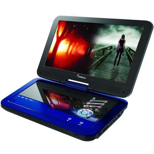 "Impecca DVP-1016K 10.1"" Portable DVD Player (Blue)"