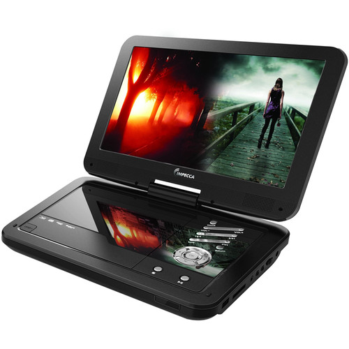 "Impecca DVP-1016K 10.1"" Portable DVD Player (Black)"