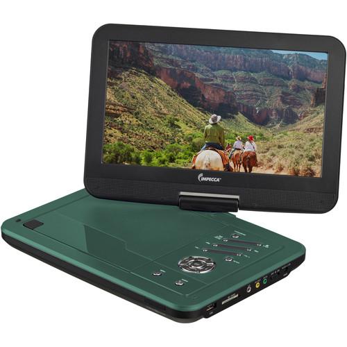 "Impecca DVP-1016K 10.1"" Portable DVD Player (Teal)"