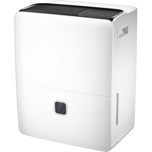 Impecca 95-Pint Portable Dehumidifier with Automatic Drain Pump (White)