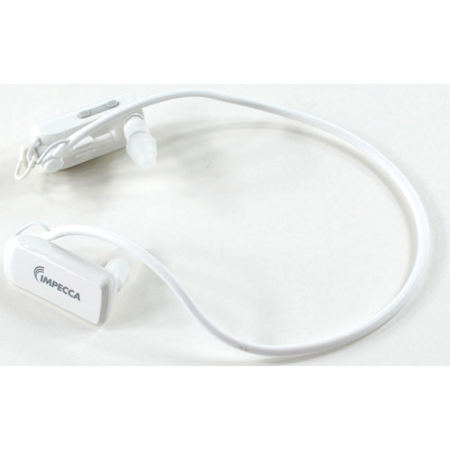 Impecca 8GB Wire-Free Sport MP3 Player (White)