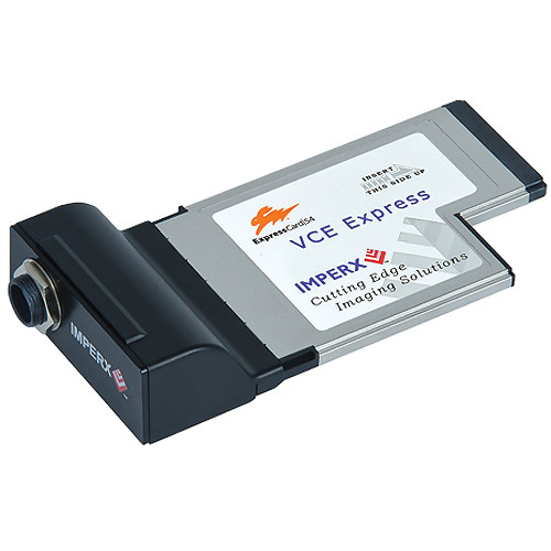 Imperx VCE-ANEX01 Analog ExpressCard/54 Video Capture Card