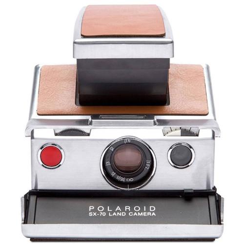 Polaroid Originals SX-70 Instant Film Camera (White and Brown)
