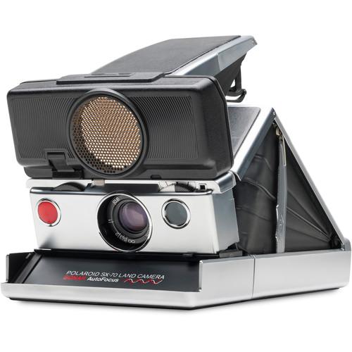 Polaroid Originals SX-70 Sonar Instant Film Camera (Silver)
