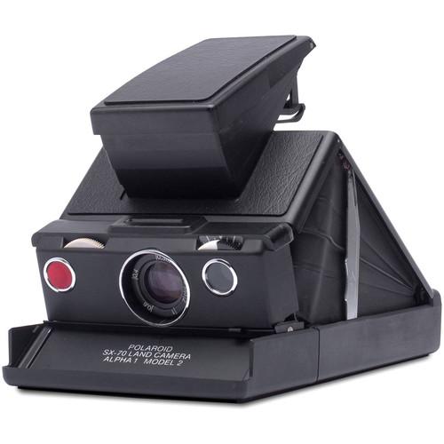 Polaroid Originals SX-70 Sonar Instant Film Camera (Black)