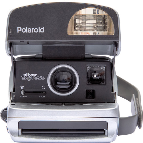Polaroid Originals 600 Express Instant Camera (Silver)