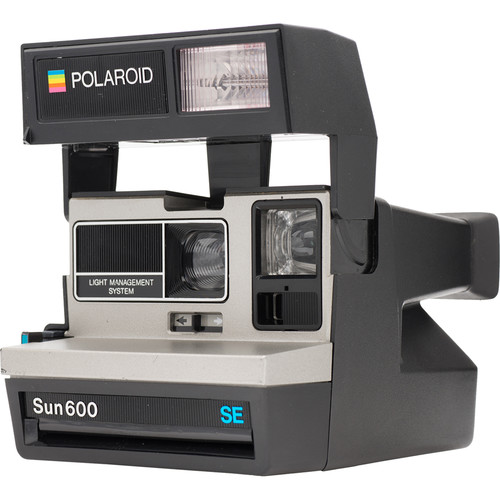 Impossible Polaroid 600 Square Instant Camera (Silver)
