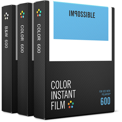Impossible 600 Triple Pack of Instant Film