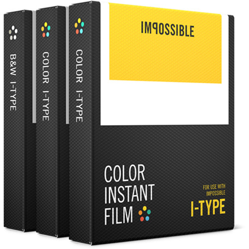 Impossible I-Type Triple Pack of Instant Film