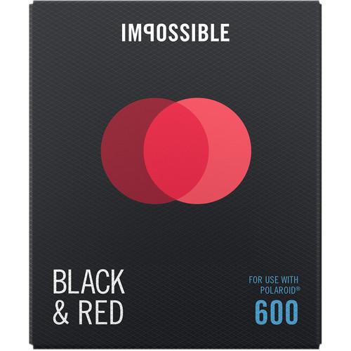 Impossible B&R Duochrome Instant Film for 600 (Black Frame, 8 Exposures)