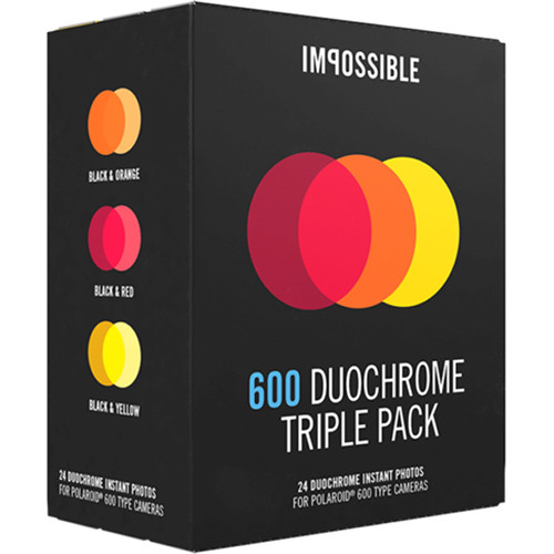 Impossible 600 Duochrome Triple Pack of Instant Film
