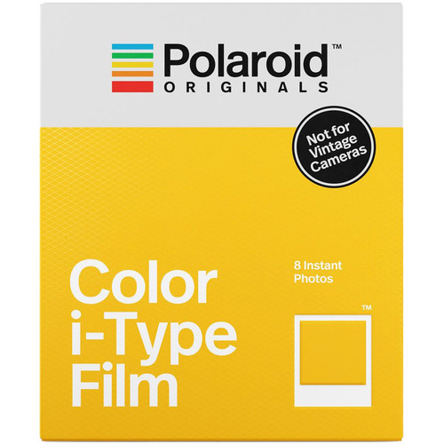 Polaroid Originals Color i-Type Instant Film (8 Exposures)