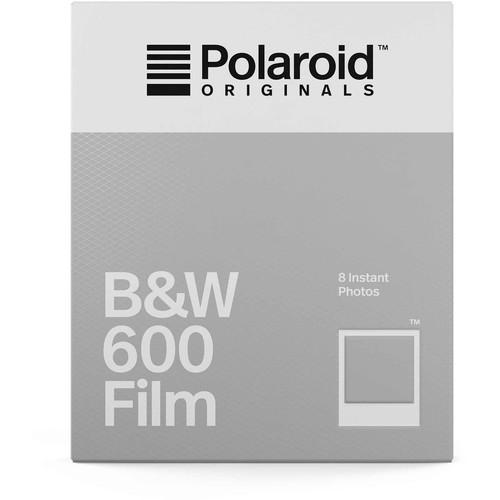 Polaroid Originals Black & White 600 Instant Film (8 Exposures, Expiration 01/19)
