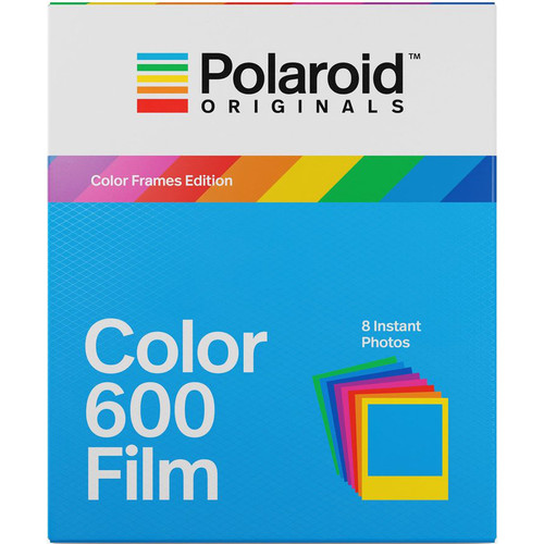 Polaroid Originals Color 600 Instant Film (Color Frames Edition, 8 Exposures)