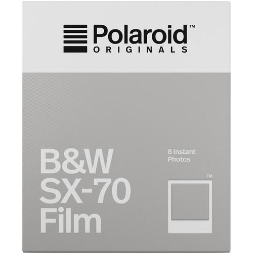 Polaroid Originals Black & White SX-70 Instant Film (8 Exposures)