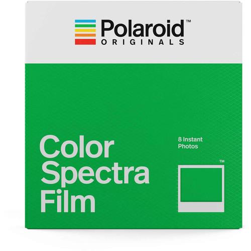 Polaroid Originals Color Spectra Instant Film (8 Exposures)