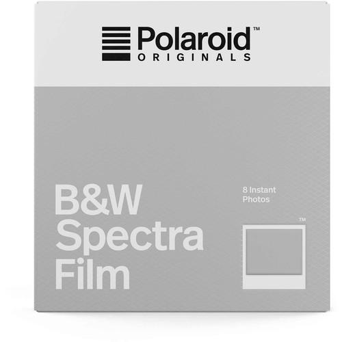 Polaroid Originals Black & White Spectra Instant Film (8 Exposures)