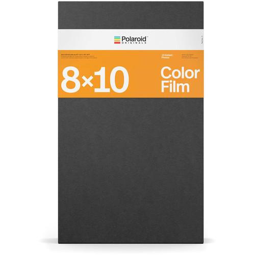 """Polaroid Originals 8 x 10"""" Color Instant Film (10 Exposures)"""