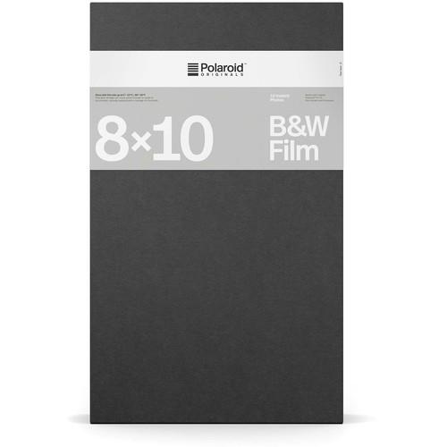 """Polaroid Originals 8 x 10"""" Black & White Instant Film (10 Exposures)"""