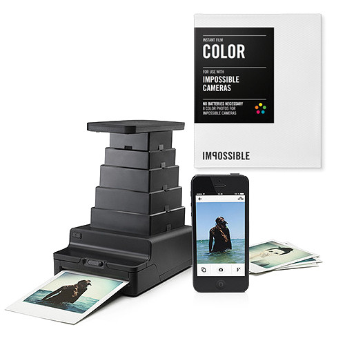 Impossible Instant Lab with Four Packs of Color Film Kit