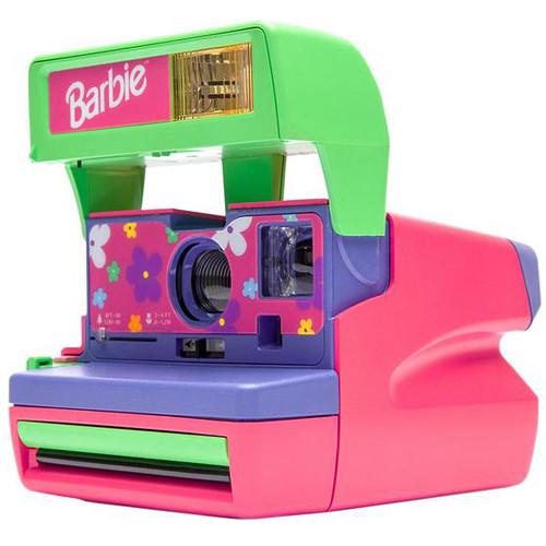 Impossible Polaroid 600 Barbie Camera