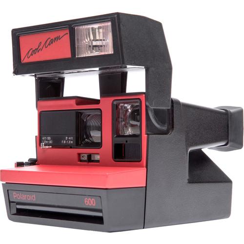 Impossible Polaroid 600 Cool Cam Instant Film Camera (Red)