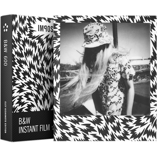 Impossible Eley Kishimoto Edition B&W Instant Film for 600 (Flash Frame, 8 Exposures)