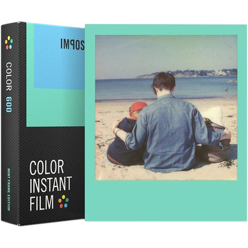 Impossible Color Instant Film for 600 (Mint Frame Edition, 8 Exposures)