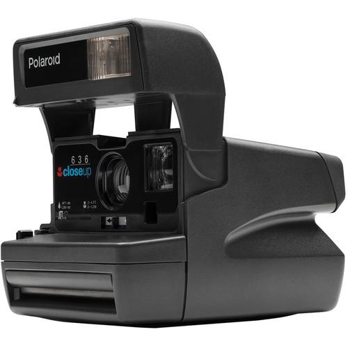 Impossible Polaroid 600 OneStep Close-Up Instant Camera (Black)