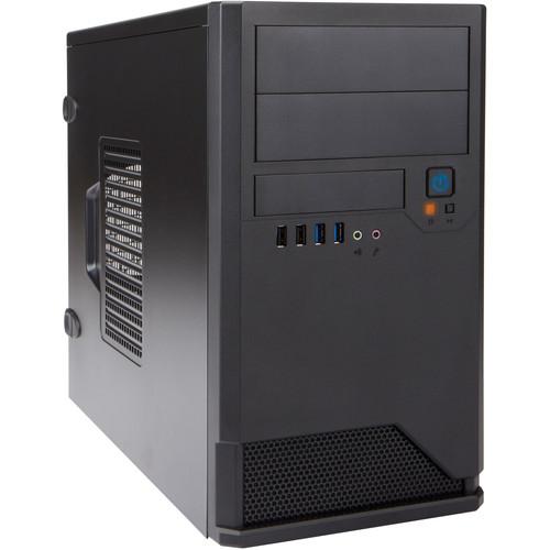 In Win EM048 Micro ATX Mini-Tower Chassis (Black)