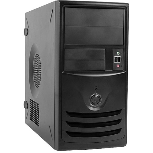 In Win Z583 microATX Chassis (Black/Silver)