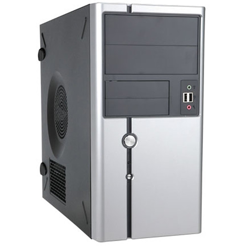 In Win Z611 MicroATX Mini-Tower Computer Case with 350W Power Supply
