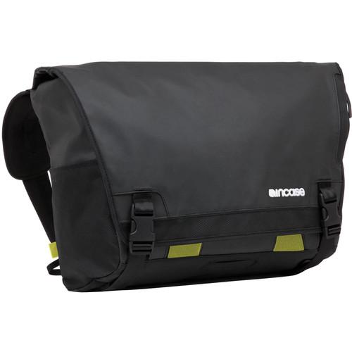 "Incase Designs Corp Range Messenger Bag for 15"" MacBook Pro (Black/Lumen)"