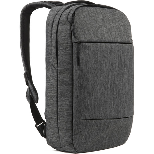 "Incase Designs Corp City Compact Backpack for 15"" MacBook Pro (Heather Black/Gunmetal Gray)"