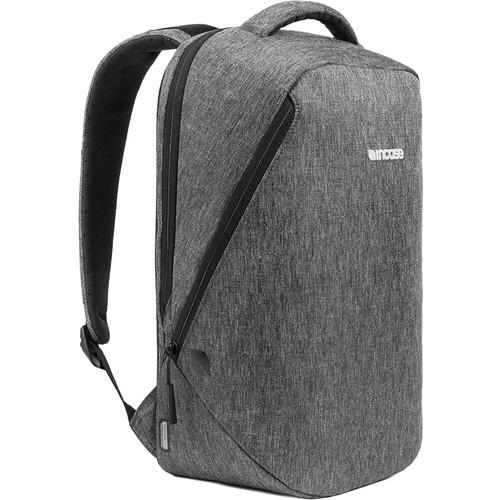 "Incase Designs Corp Reform Backpack for 13"" Laptop (Heather Black)"