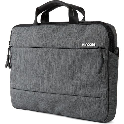"Incase Designs Corp City Brief Bag for 13"" MacBook Pro (Heather Black / Gunmetal Gray)"