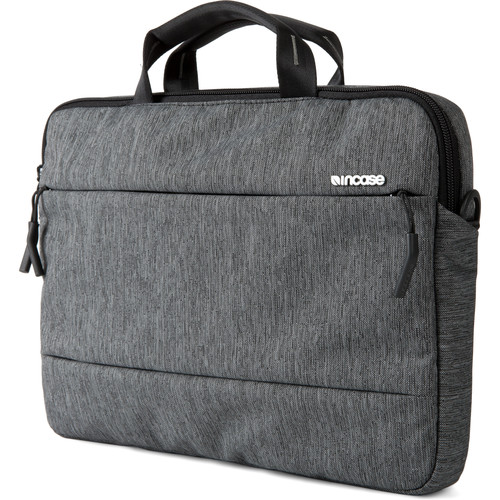 "Incase Designs Corp City Brief Bag for 15"" MacBook Pro (Heather Black / Gunmetal Gray)"