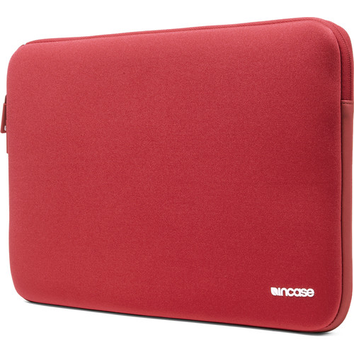 "Incase Designs Corp Neoprene Classic Sleeve for 15"" MacBook (Racing Red)"