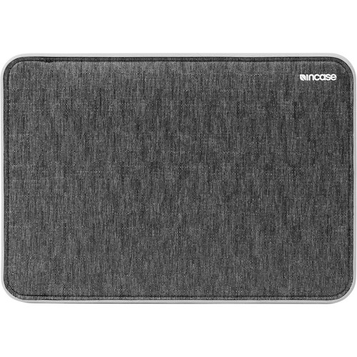 "Incase Designs Corp ICON Sleeve with TENSAERLITE for 15"" MacBook Pro Retina (Heather Black / Gray)"