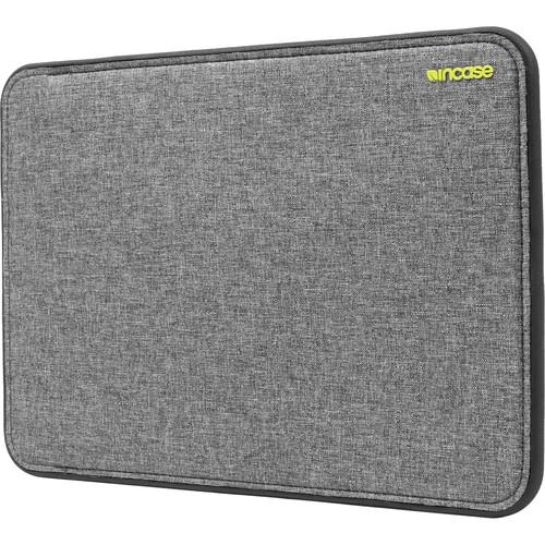 "Incase Designs Corp ICON Sleeve with TENSAERLITE for 15"" MacBook Pro Retina (Heather Gray / Black)"