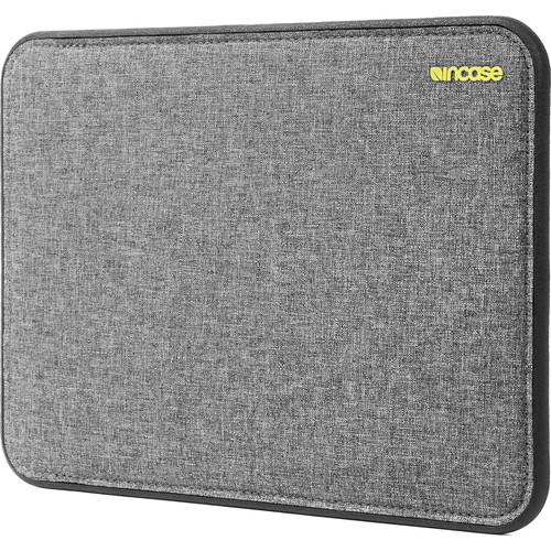 "Incase Designs Corp ICON Sleeve with Tensaerlite for 12"" MacBook (Heather Grey/Black)"