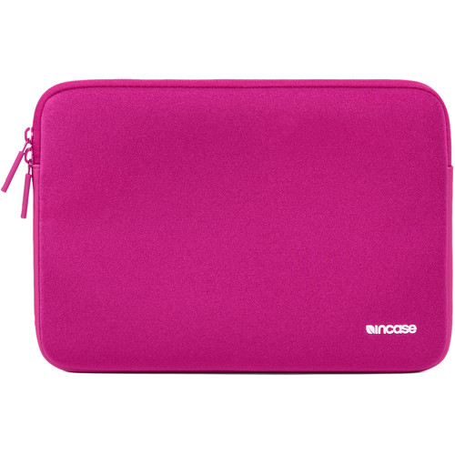 "Incase Designs Corp Neoprene Classic Sleeve for 12"" MacBook (Pink Sapphire)"