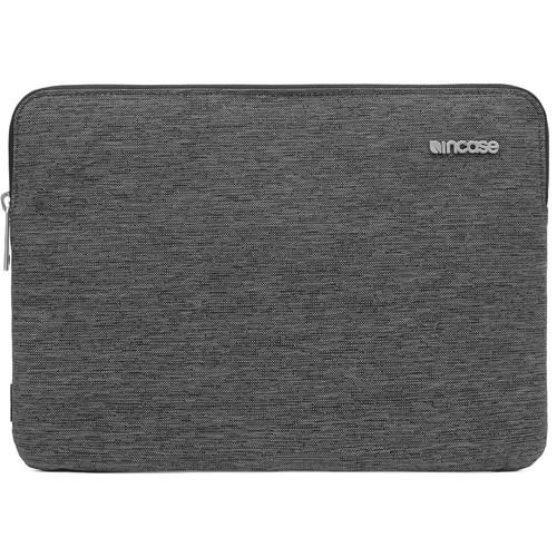 "Incase Designs Corp Slim Sleeve for 12"" MacBook (Heather Black)"