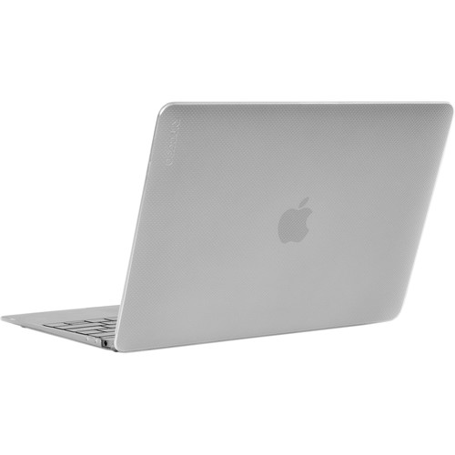 """Incase Designs Corp Hard-Shell Case for MacBook 12"""" (Dots-Clear)"""