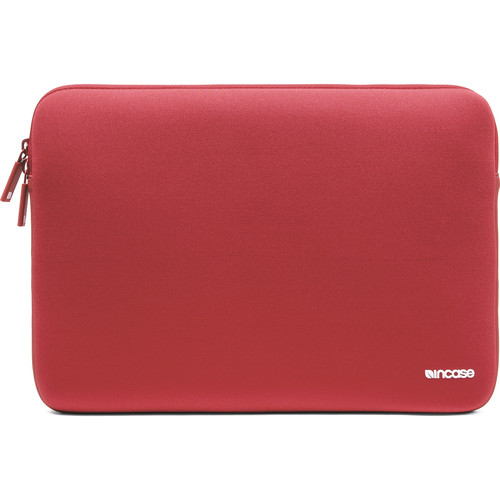 "Incase Designs Corp Neoprene Classic Sleeve V2 for 13"" MacBook (Racing Red)"