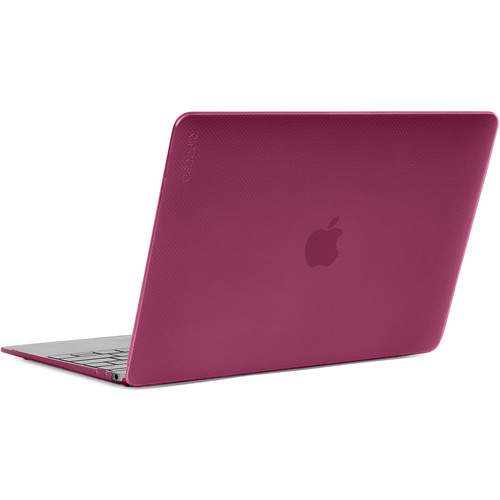 """Incase Designs Corp Hard-Shell Case for MacBook 12"""" (Dots-Pink Sapphire)"""