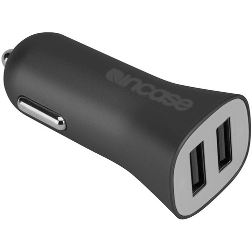 Incase Designs Corp High Speed Dual Car Charger (Black)