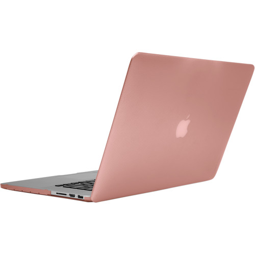 "Incase Designs Corp Hard-Shell Case for MacBook Pro Retina 15"" (Dots-Rose Quartz)"