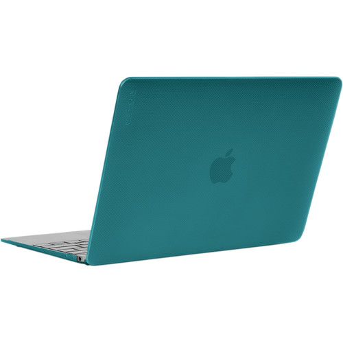 """Incase Designs Corp Hardshell Case for MacBook 12"""" (Dots-Peacock)"""